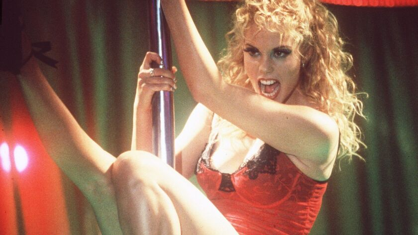 """Elizabeth Berkley in a scene from the 1995 movie """"Showgirls,"""" which the MPAA assigned an NC-17 rating."""
