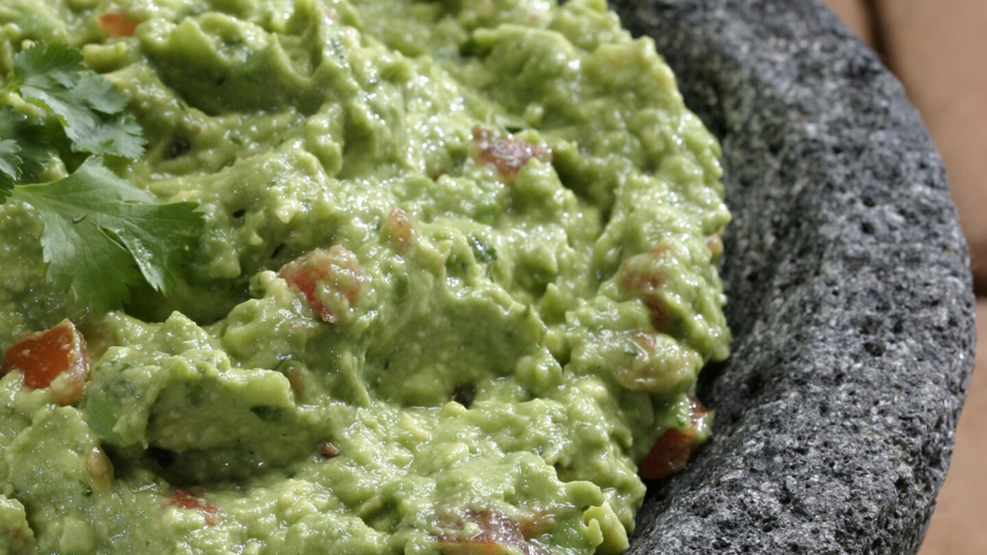 You can't go wrong with this easy-to-make, game-day classic. Recipe: Guacamole