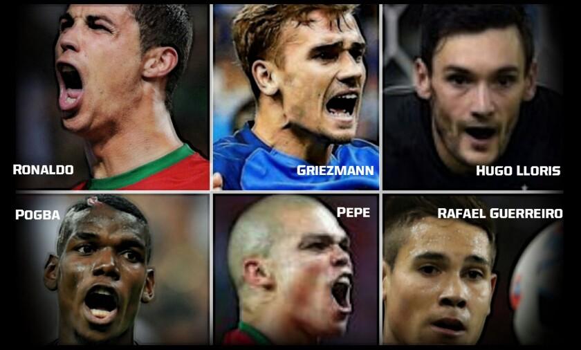 Portugal vs Francia: Figuras a seguir en la final de la Eurocopa.