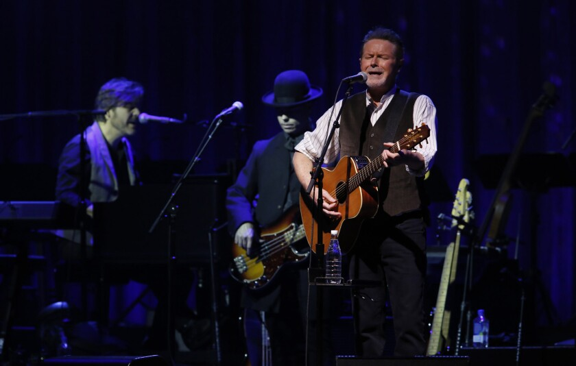 Don Henley performs Oct. 9 at the Forum in Inglewood.