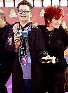 Jack and Sharon Osbourne