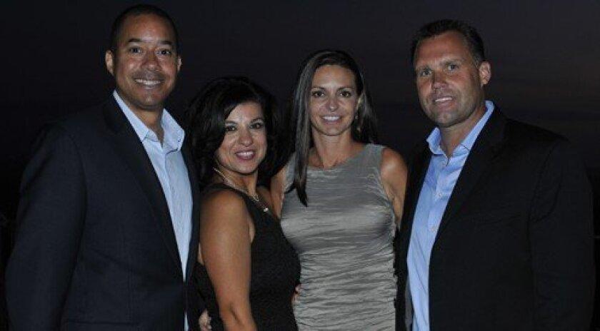 Juma CEO Marc Spencer, Neda Noorani, Michelle and Blair Liggatt (Photo: Rob McKenzie)