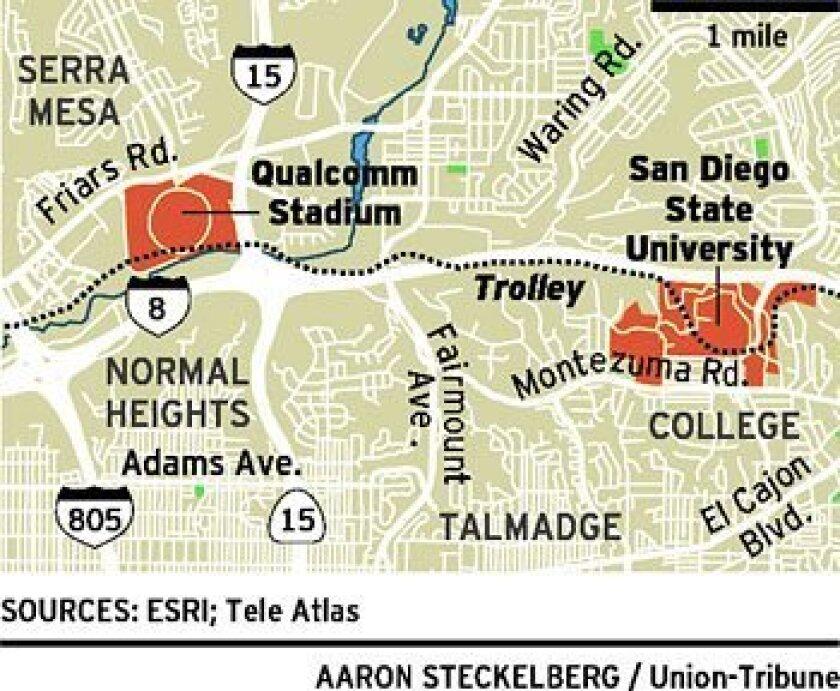 Qualcomm Stadium site in SDSU\'s sights - The San Diego Union ...