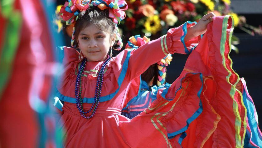 National City, CA, 3/15/14_Mariachi Festival Fatima Cabrales-Villanueva, 6, of the Children's Cultur
