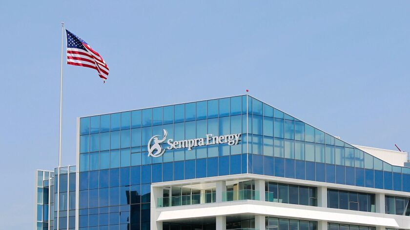 Sempra Energy headquarters in downtown San Diego.