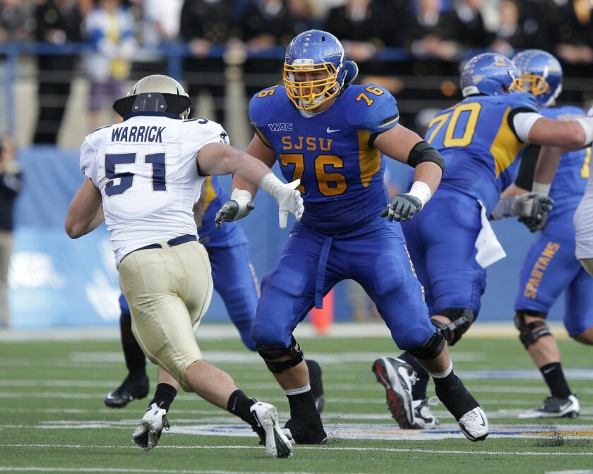 La Costa Canyon graduate David Quessenberry went from being a walk-on to earning a scholarship at San Jose State.