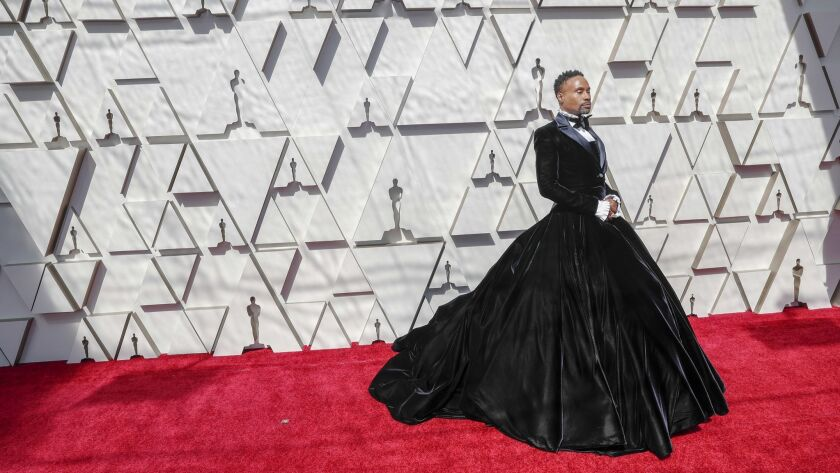 HOLLYWOOD, CA – February 24, 2019 Billy Porter during the arrivals at the 91st Academy Awards on