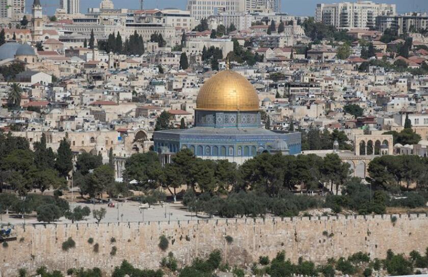 El Consejo de Seguridad de la ONU analizará la semana próxima un proyecto de resolución para declarar sin efectos legales cualquier decisión que convierta a Jerusalén en capital de Israel, informaron hoy fuentes diplomáticas. EFE/ARCHIVO