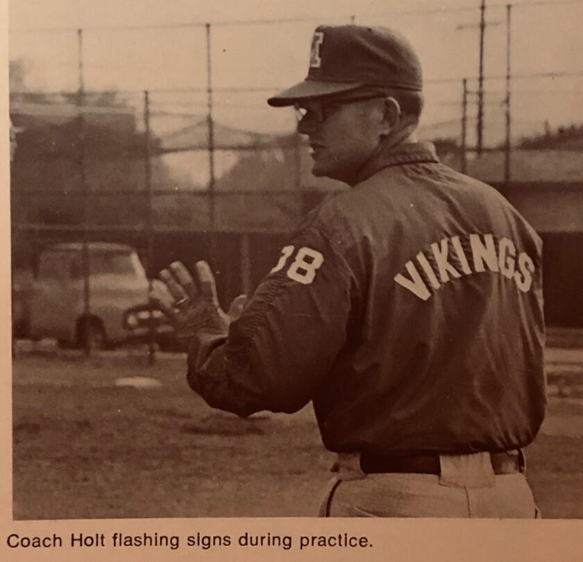 Former Monroe baseball coach Denny Holt.