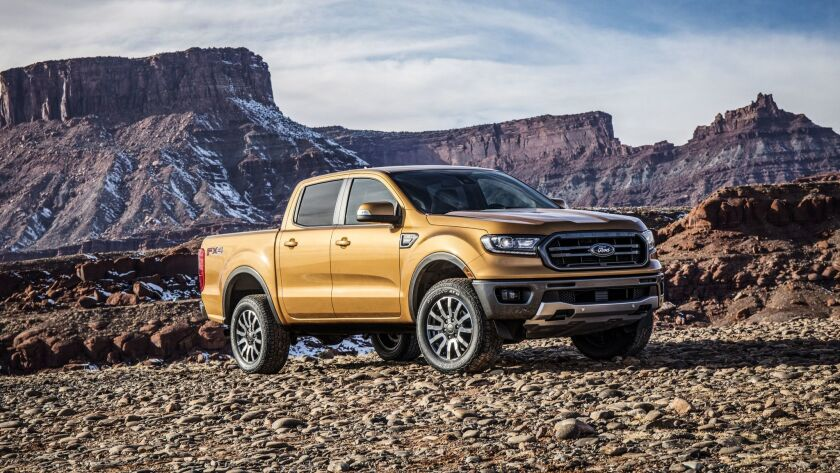 Ford Motor Co. is bringing back the Ranger. The new midsize truck replaces the earlier compact versi