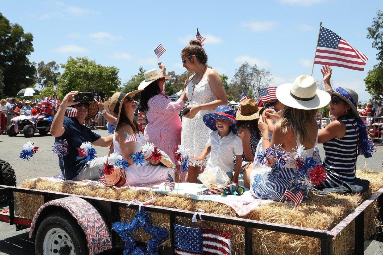 2019 Rancho Santa Fe Independence Day Parade
