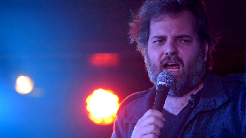"""Dan Harmon in """"Harmontown,"""" a documentary chronicling his podcast tour after he was fired from NBC's comedy series """"Community."""""""