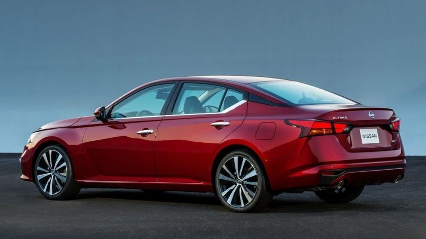 The all-new Altima takes its inspiration from the award-winning Nissan Vmotion 2.0 concept, which de