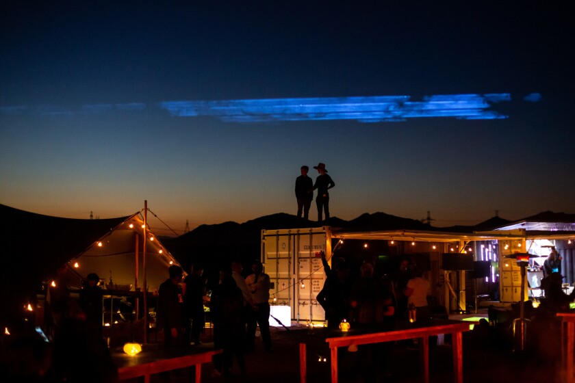 NASA engineers, synthetic biologists, angel investors and others converge on the Mojave Desert for the Betaspace confab to explore ideas about settlements in space.