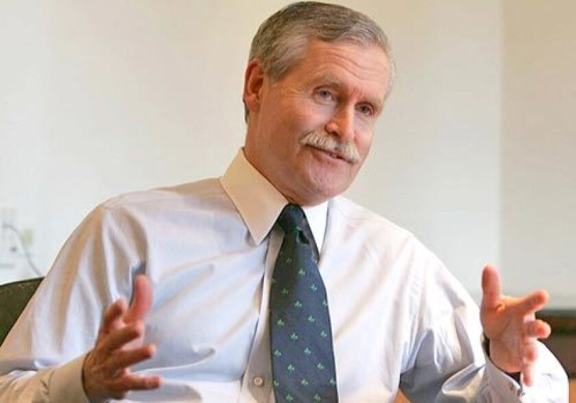 After joining the company in 1982 as sales director of WGN-TV, Dennis J. FitzSimons rose through the ranks of Tribune's television operations. He became CEO in 2003, three years after Tribune's acquisition of Times Mirror Co., the owner of The Times, and was named chairman in 2004.