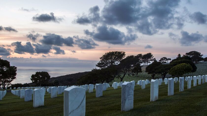 5/4/2015 San Diego, Ca. | Scenic imagery around Fort Rosecrans National Cemetery. | Photo Sean M. Ha