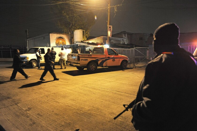 Gunmen killed 13 people at a drug rehabilitation center in eastern Tijuana Sunday night.