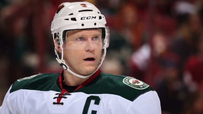 Wild center Mikko Koivu had 18 goals and 58 points for Minnesota this season with a plus-27 rating.
