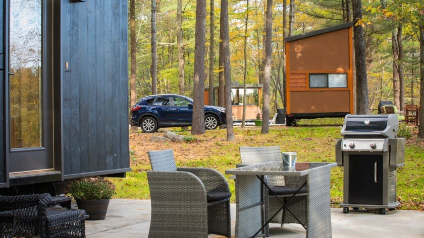 Tiny House Las Vegas >> Stay In A Tiny House In The Wisconsin Woods Or At A Las Vegas Casino