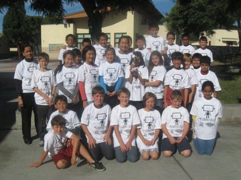 Torrey Hills Robotics team 2012