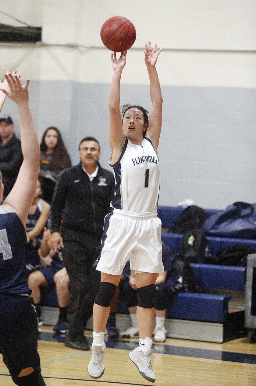 Photo Gallery: Flintridge Prep girls basketball advances to CIF SS Div. II-A semifinals after defeating Chino Hills in quarterfinals