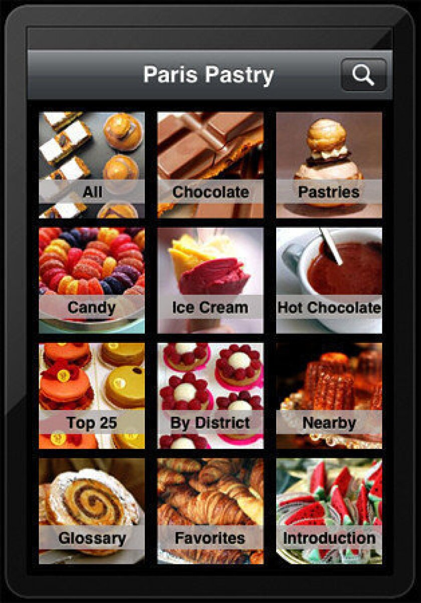 Free download of David Lebovitz's app 'Paris Pastry'