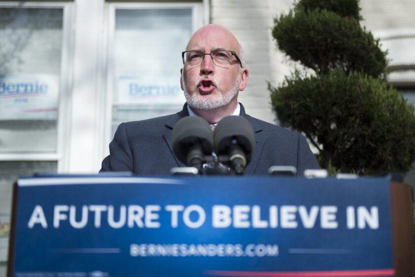 Bernie Sanders' campaign manager, Jeff Weaver