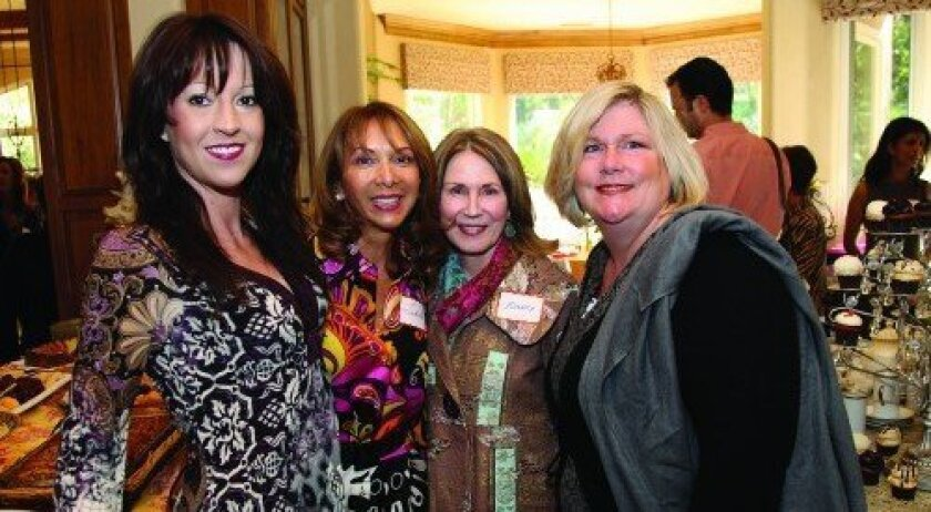 Andrene Dziubinski, Judith Judy, Nancy Sappington, Mary Ellen Wengler (Photo: Jon Clark)