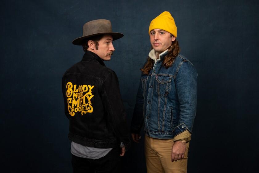 Directors Turner Ross, left, and Bill Ross, at Sundance.