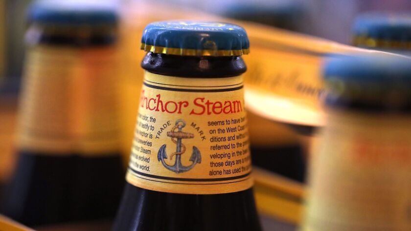 San Francisco-based Anchor Brewing is being sold to Japan's Sapporo Holdings Ltd. for an undisclosed amount.