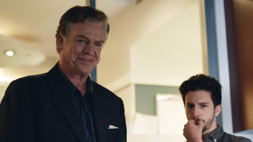 "Christopher McDonald, left, and John Magaro star as father and son in the movie ""Don't Worry Baby."""