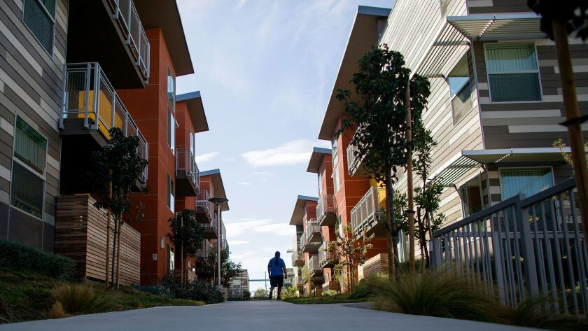 The Sage Park Apartments were built to give LAUSD teachers an affordable place to live, but the way the new development was financed meant that teachers actually earn too much money to live there.