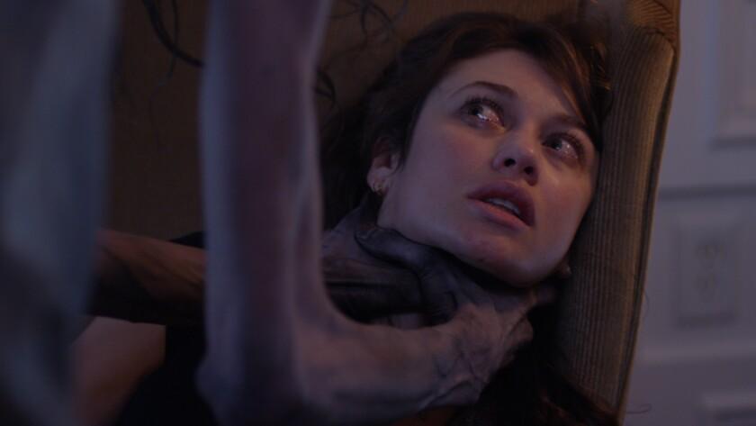 "Olga Kuryleno in the movie ""Mara."""