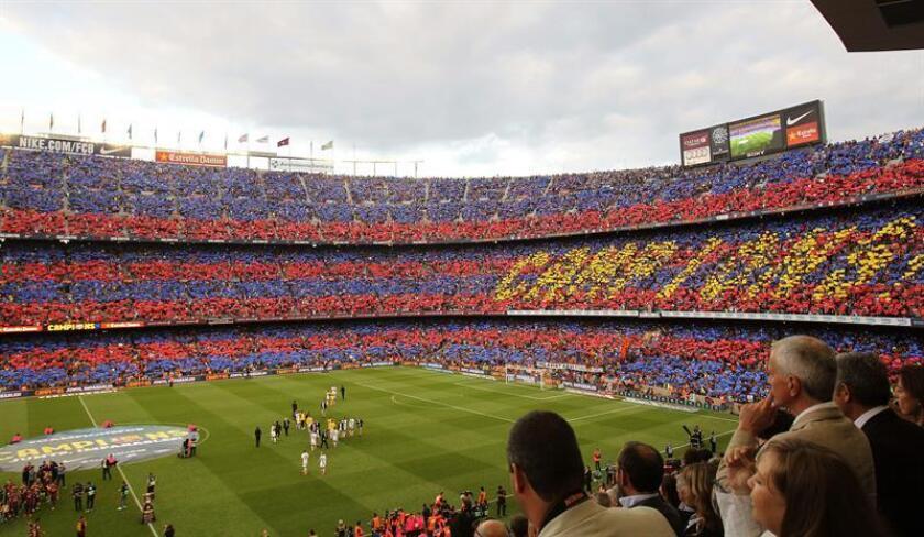 Vista general del estadio del Nou Camp. EFE/Archivo