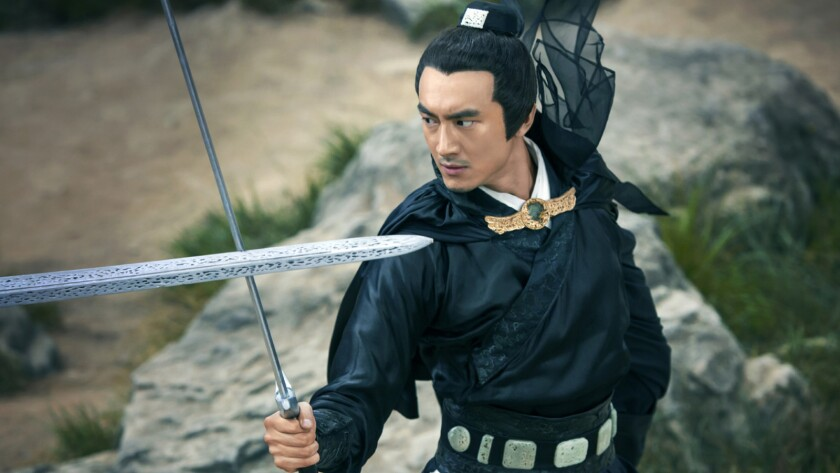 """Kenny Lin in the movie """"Sword Master."""""""