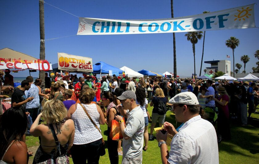 The 40th annual Ocean Beach Street Fair & Chili Cook-Off Festival will have lots of chili samples, music, art and activities for everyone.