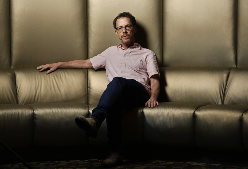 """Director and screenwriter Ethan Coen, author of the new stage work """"A Play Is a Poem."""""""
