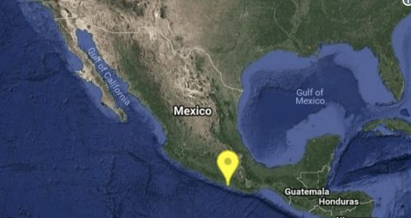 El Sismológico Nacional de México reportó que el temblor tuvo epicentro en Ometepec, Guerrero.