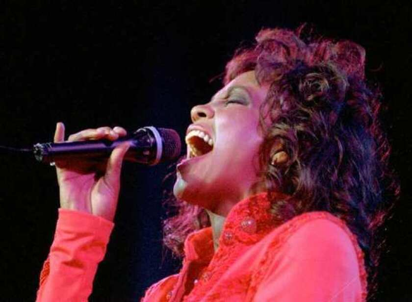 Whitney Houston in Anaheim 1994