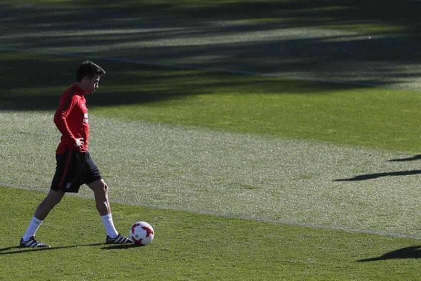 El centrocampista argentino Nico Gaitán, en una imagen de archivo. EFE/Archivo