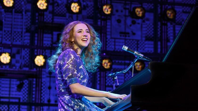 "Julia Knitel stars in ""Beautiful – The Carole King Musical"" at Segerstrom Center."