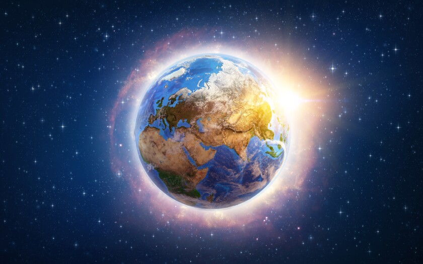 Global warming on Earth