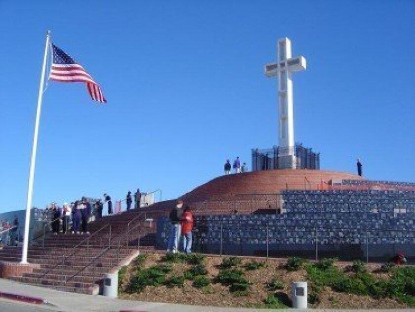 The contentious cross atop Mt. Soledad
