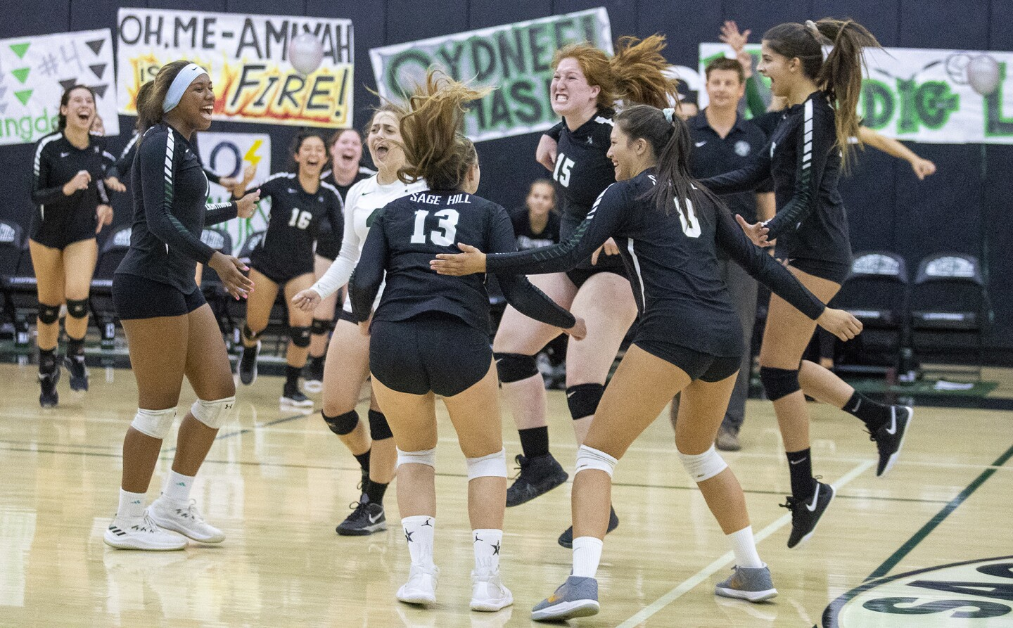 Photo Gallery: Sage Hill vs. St. Margaret's in girls' volleyball