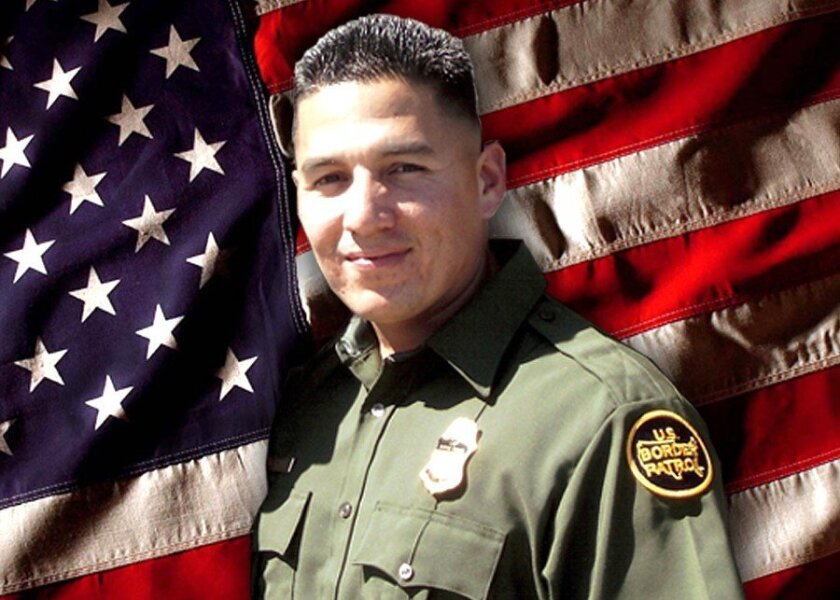 Agent Robert Rosas, 30, of El Centro, was gunned down July 23, 2009, while on patrol alone near Campo.