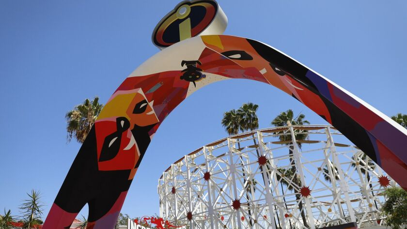 ANAHEIM, CALIF. -- JUNE 21, 2018 -- On Thursday, California Adventure Park offered an early peek at