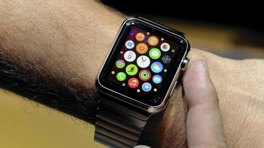 The Apple Watch is set to hit store shelves later this month.