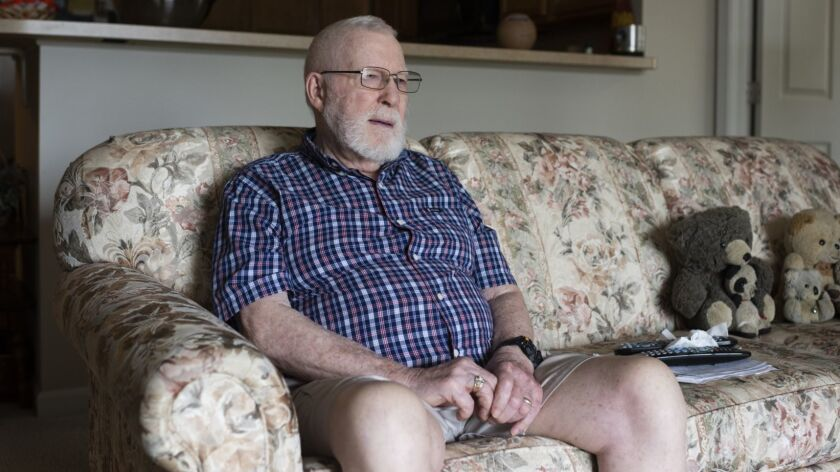 Bob Blocksom, 87, is interested in becoming a truck driver to help pay for medical expenses for his wife.