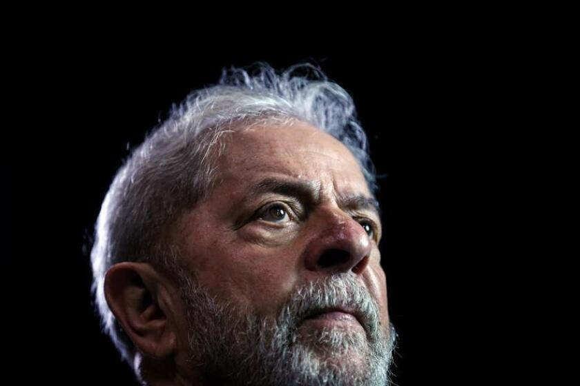 Brazilian former President Luiz Inacio Lula da Silva during an interview in Sao Paulo, Brazil, on Nov. 22, 2017 (reissued on Sept. 11, 2018). Lula's legal woes worsened on Feb. 6, 2019, when he was convicted in a new corruption case and sentenced to 12 years and 11 months behind bars. EPA-EFE/Fernando Bizerra Jr.