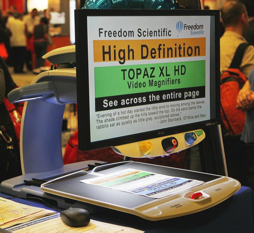 Freedom Scientific's Topaz screen magnifier